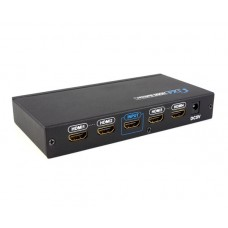 3D, HDMI Amplifier Splitter distributes 1 x 4