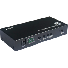 VF-UHD-SW31 3 x 1 HDMI Switch with Audio extractor